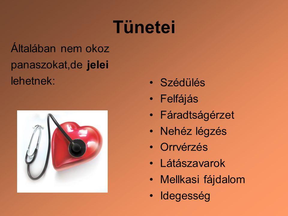 magas vérnyomás tünetei és jelei)