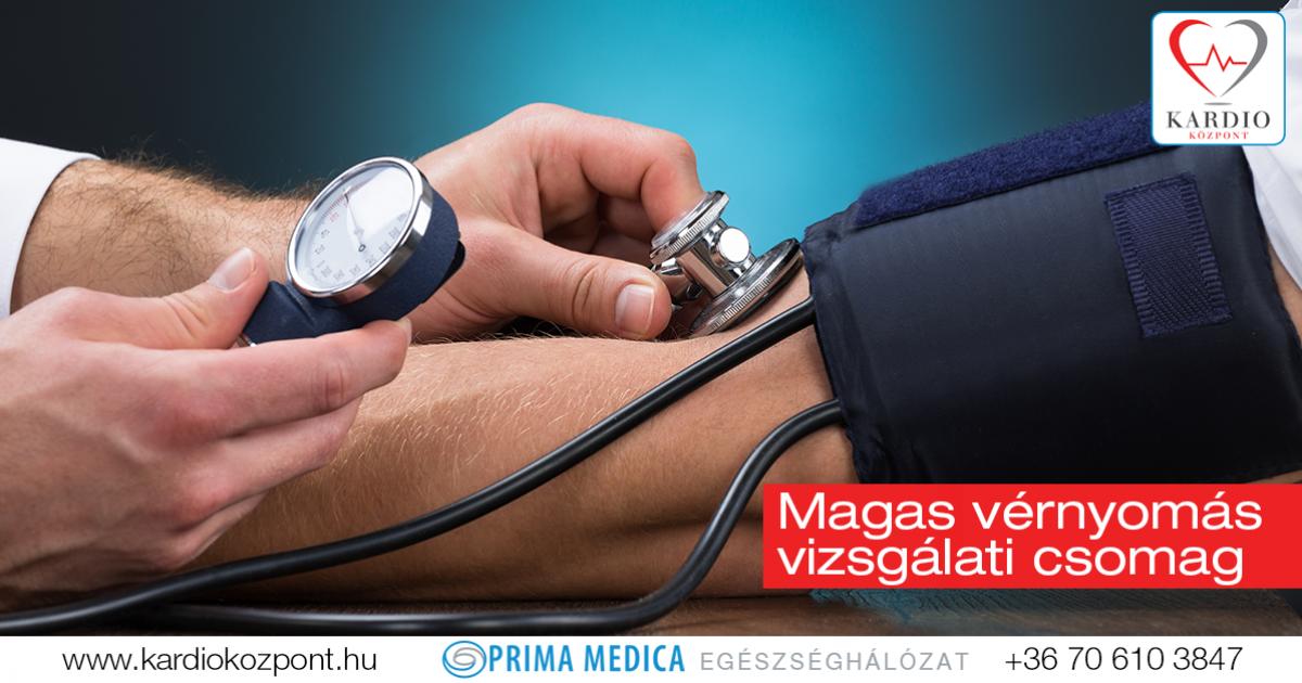magas vérnyomás vizsgálat kezdete