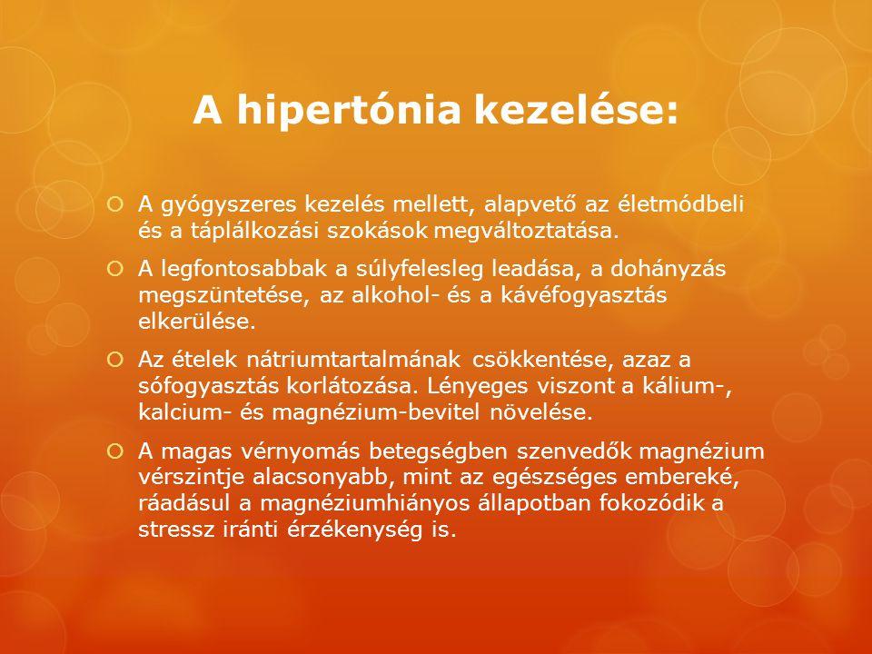 hogyan kezeli a másodfokú hipertóniát