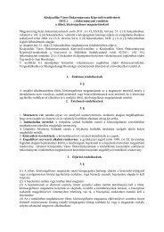 Magyarországi Sclerosis Multiplex (SM) Centrumok On-line