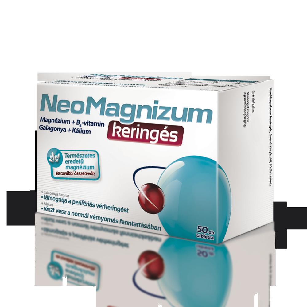 kálium és magnézium magas vérnyomás