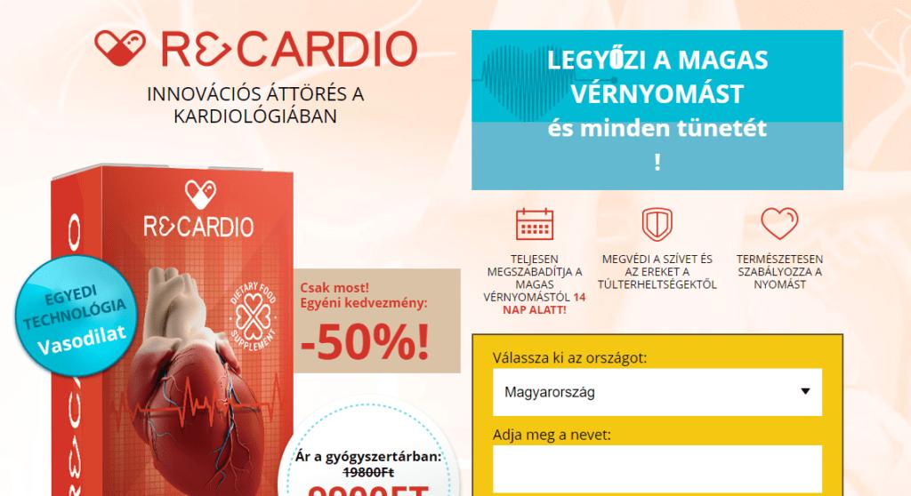 Ricardo magas vérnyomású gyógyszer