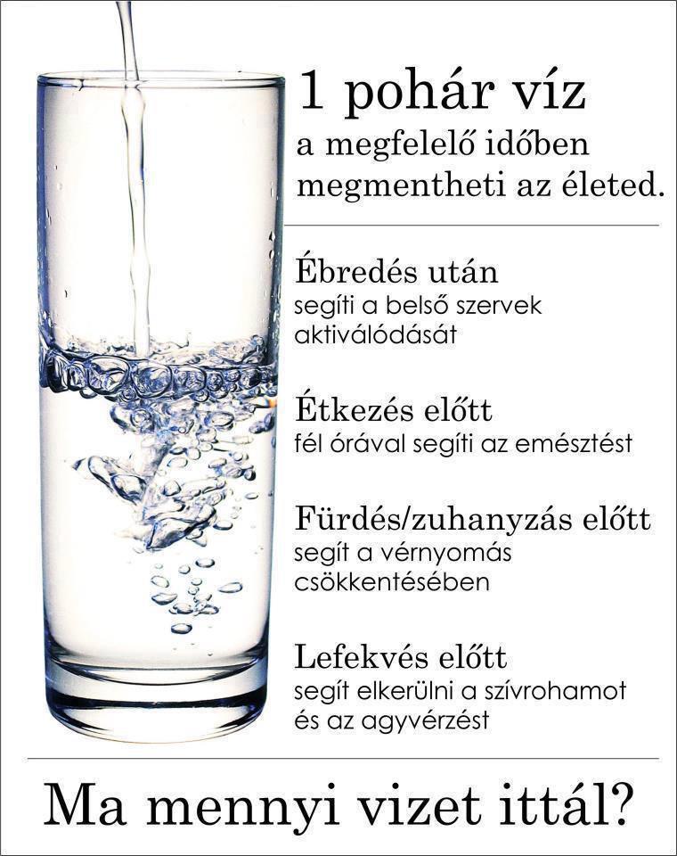 magas vérnyomás vízmennyiség)