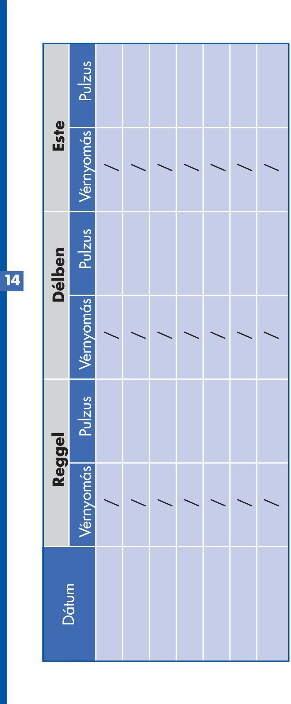 magas vérnyomás napló)