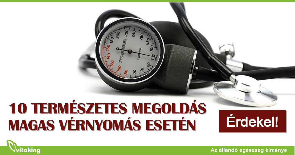 diéta magas vérnyomás esetén 10