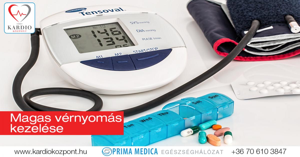 magas vérnyomás ellen alkalmazott gyógyszerek