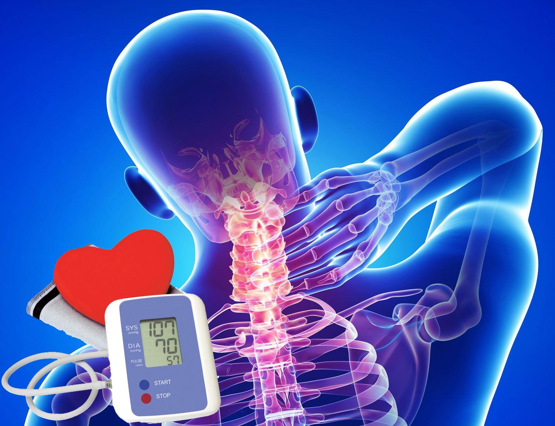 masszázs osteochondrosis és magas vérnyomás esetén)