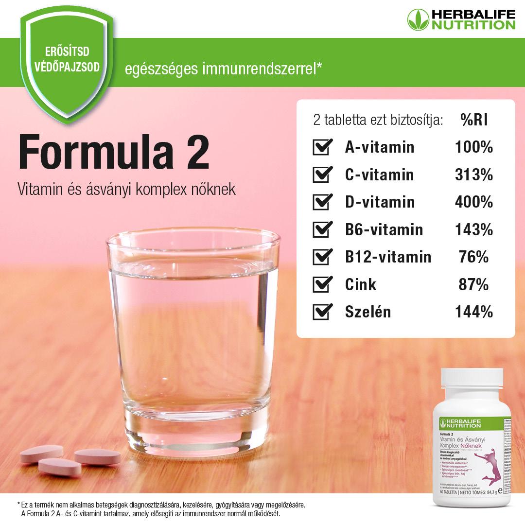 herbalife magas vérnyomás ellen