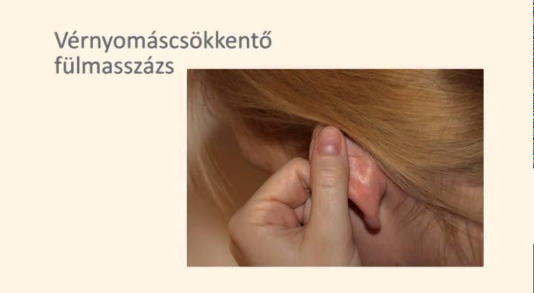 akupunktúrás pontok a magas vérnyomás ellen