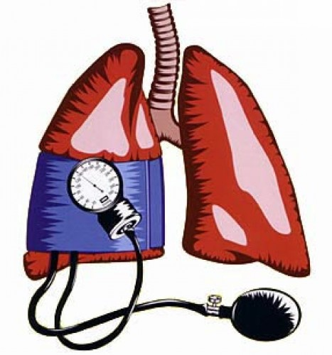 pulmonalis hipertónia vagy magas vérnyomás)