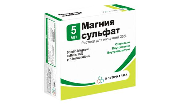 magnézium-szulfát intramuszkulárisan magas vérnyomás esetén