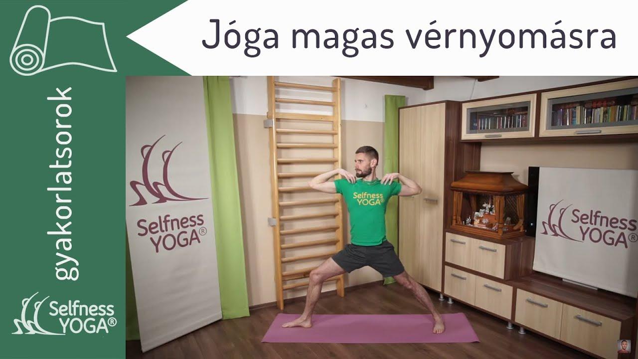 jóga magas vérnyomás ellen
