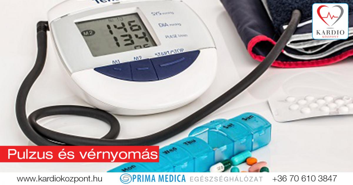 hogyan csökkenthető a pulzus a magas vérnyomásban)