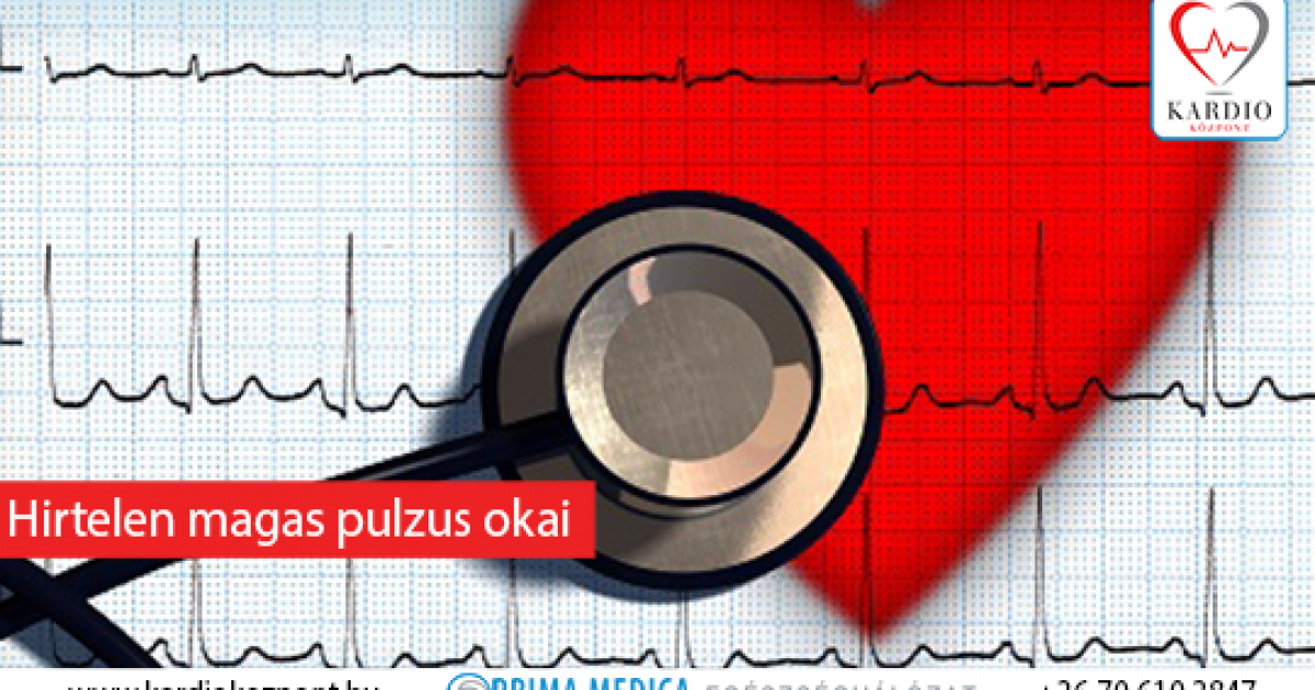 megnövekedett pulzusszám magas vérnyomás esetén