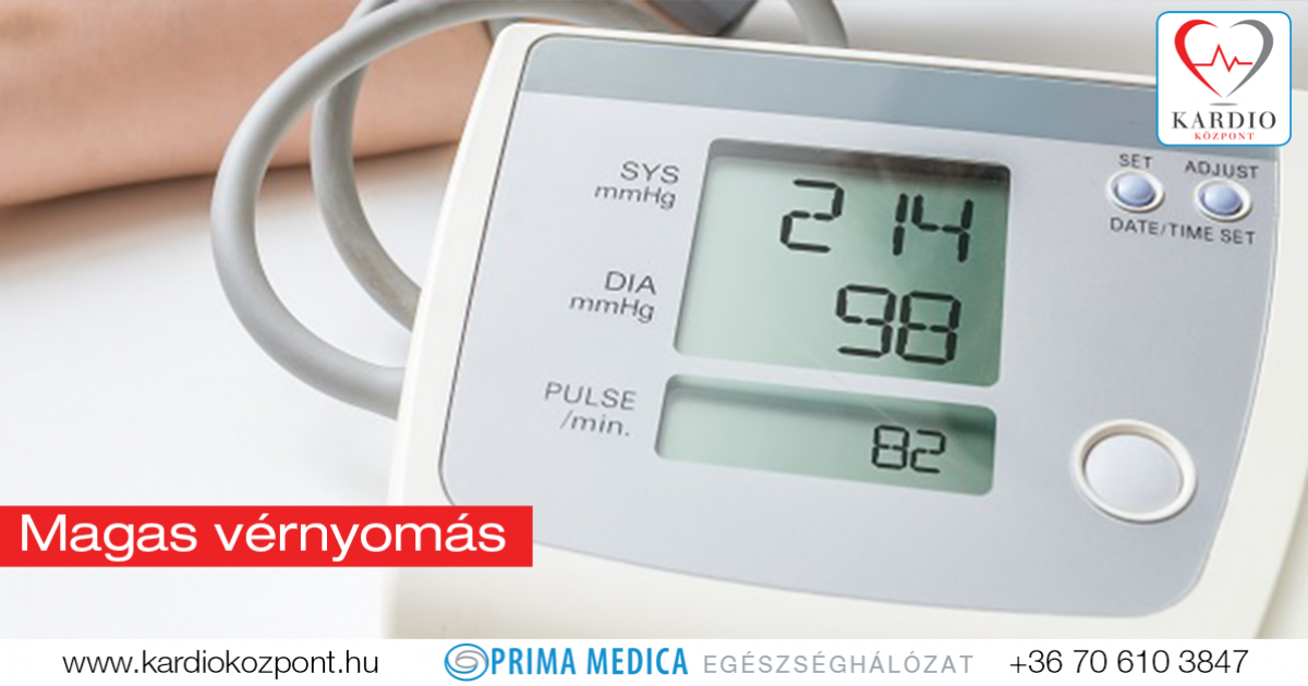 a magas vérnyomás a szív- és érrendszer betegsége