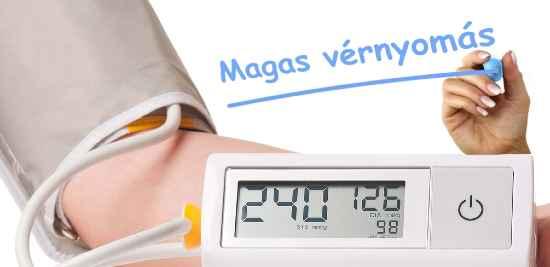 másodfokú magas vérnyomás