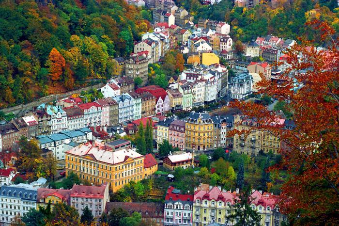magas vérnyomás és Karlovy Vary)