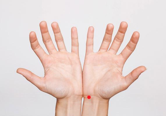 akupresszúra magas vérnyomás esetén