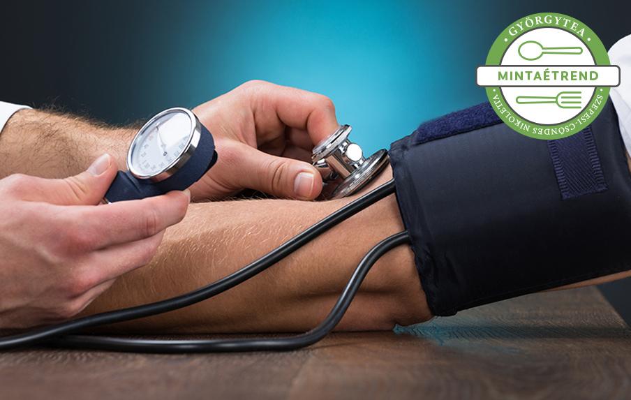 hogyan lehet a magas vérnyomást diétával kezelni magas vérnyomás kezelés papazol