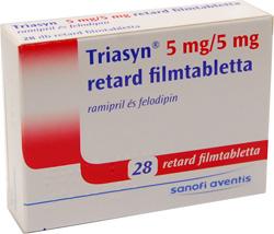FELODIPIN-ratiopharm 5 mg retard filmtabletta