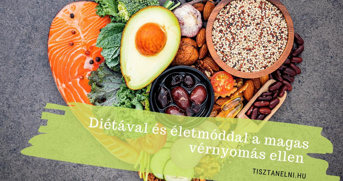 milyen ételek segítenek a magas vérnyomásban magas vérnyomás vagy vds