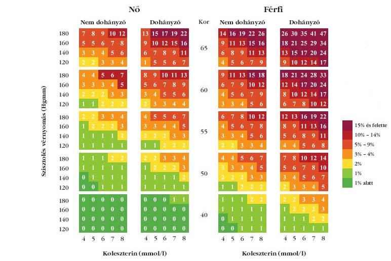 Kardiovaszkuláris kockázati tényezők az Eurostat és az ESC adatainak tükrében