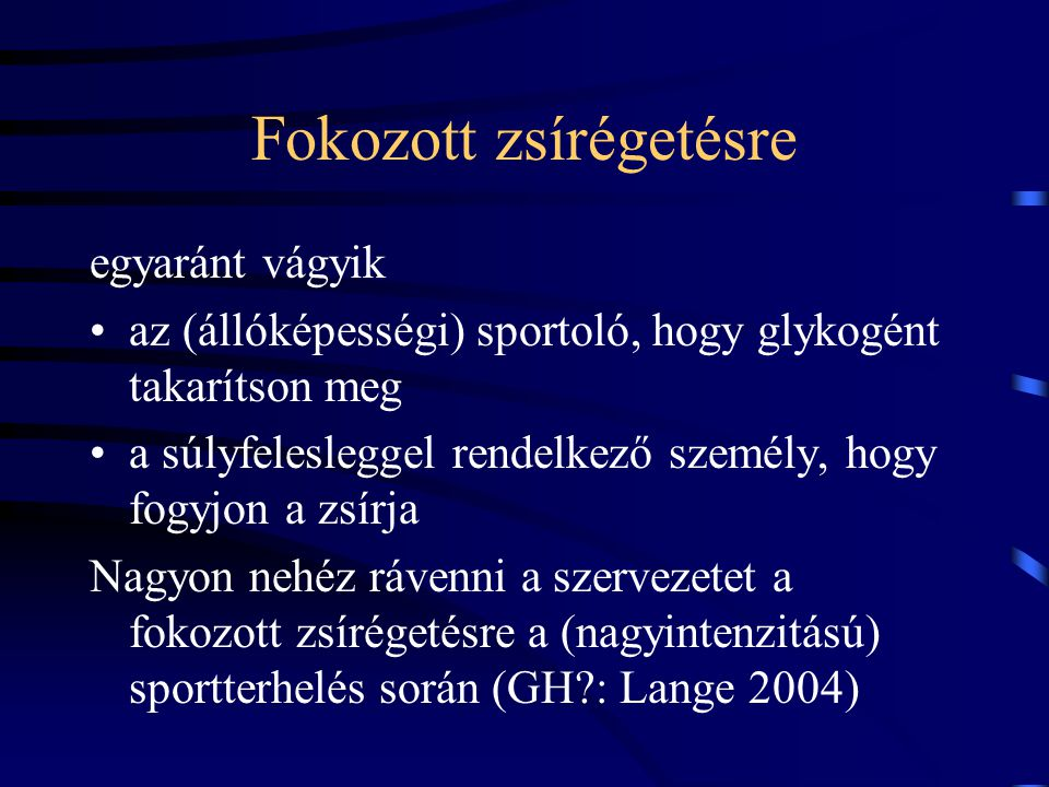 hipertónia sportterhelés