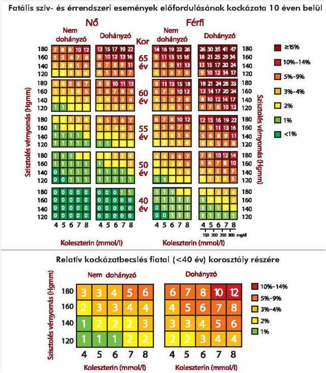 kardiovaszkuláris kockázat magas vérnyomás esetén)